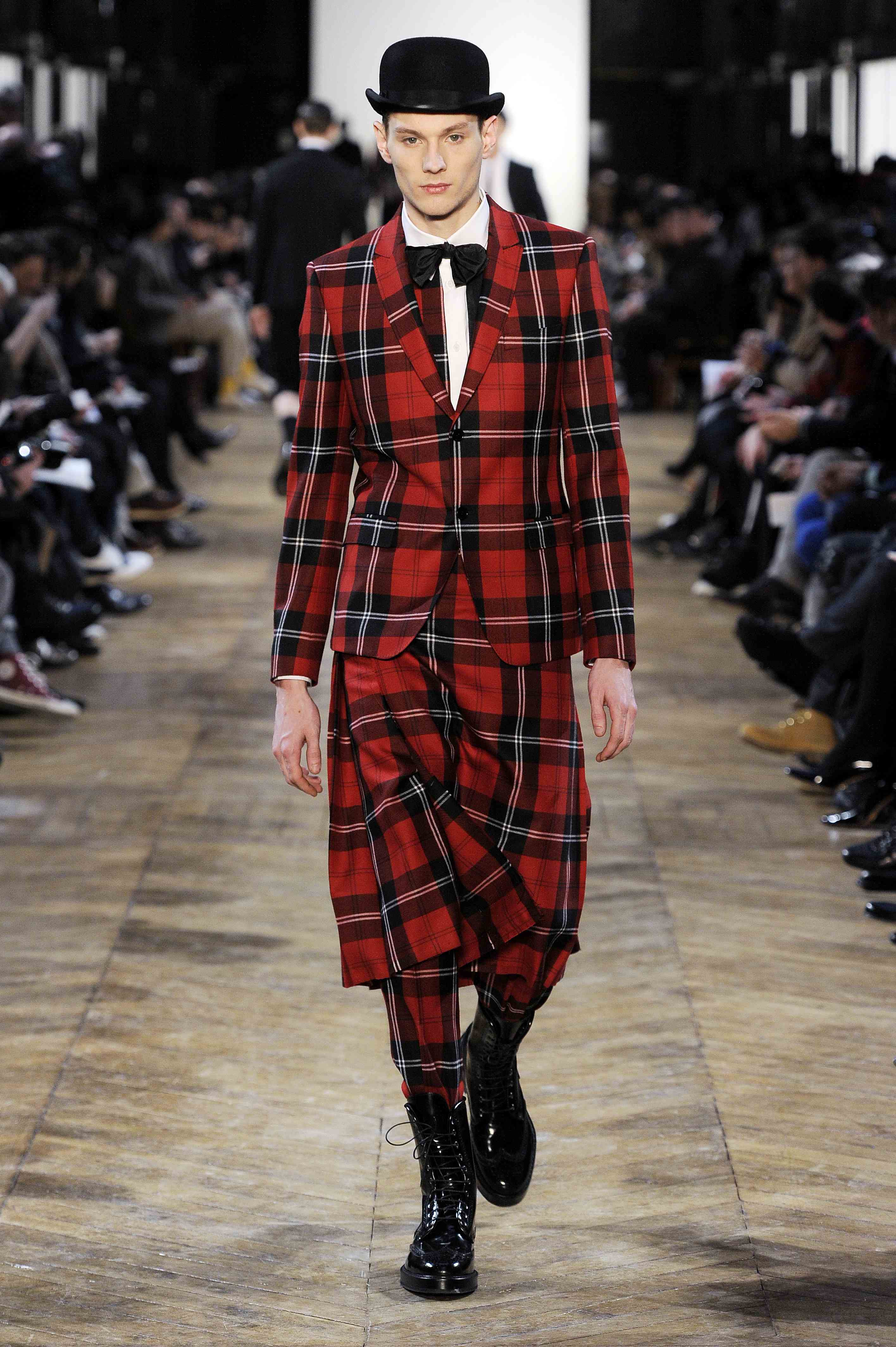 Fashion week hiver 2011 : jupes pour homme