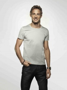 jenson button en T shirt