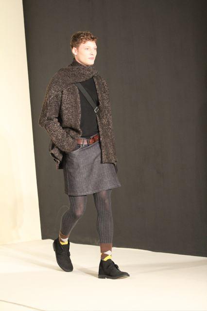 blog homme urbain agnes b homme en jupe