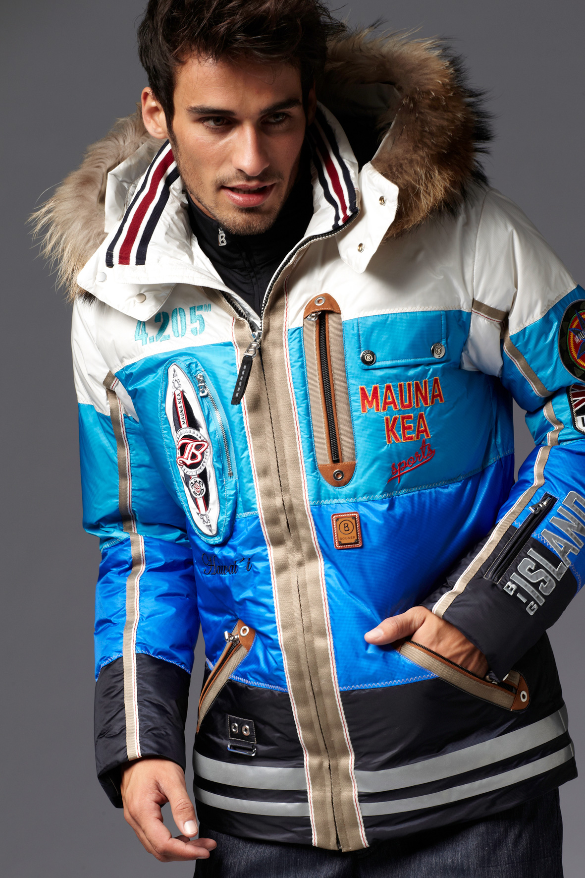 Veste de ski homme mode