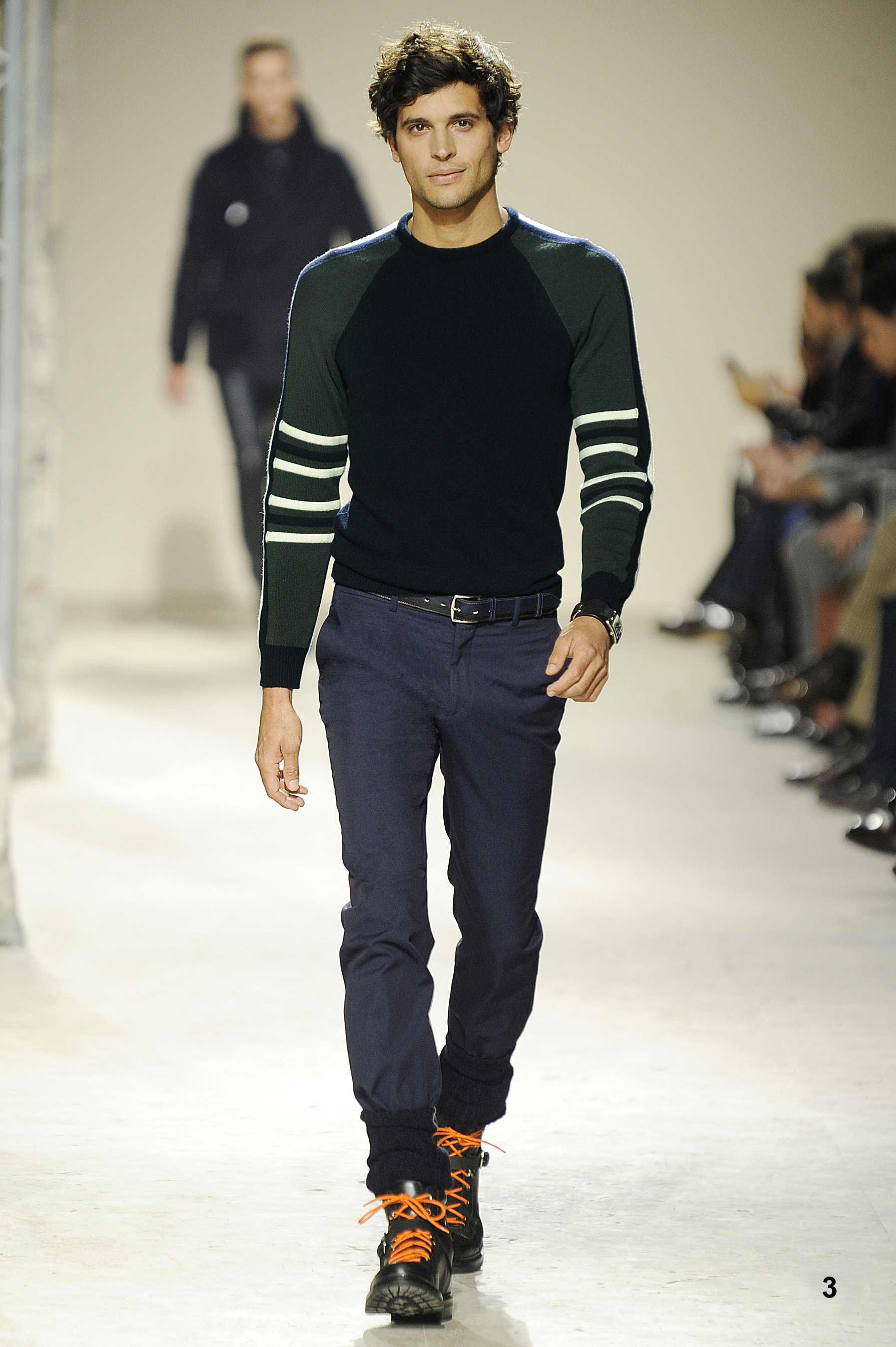 Collection Hermès Homme hiver 2013, tonique et sportive 6e571bf63c1