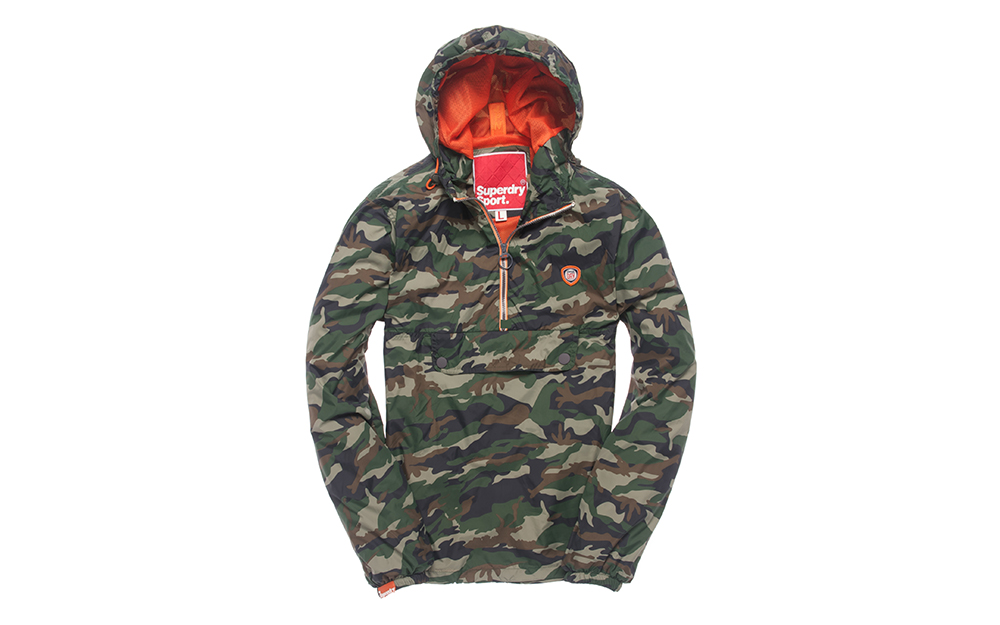 Coupe vent camouflage homme