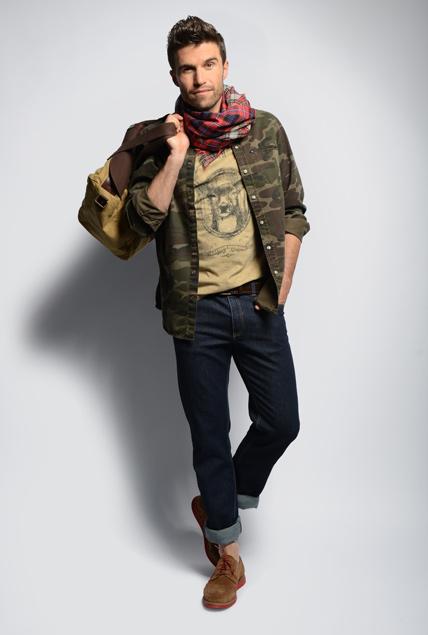 promod chemise camouflage