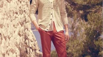 pantalon homme rouge façonnable