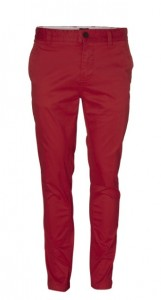 pantalon homme rouge Minimum