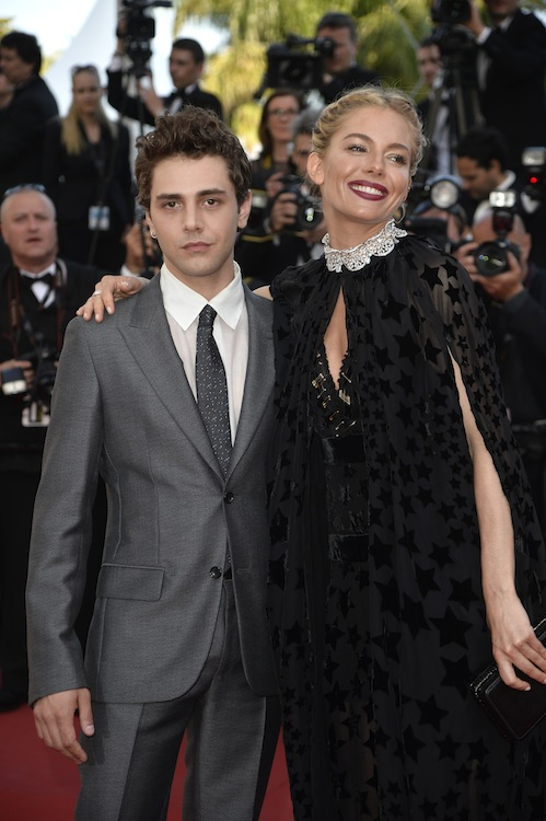 "CANNES, FRANCE - MAY 17: Xavier Dolan and Sienna Miller attend the Premiere of ""Carol"" during the 68th annual Cannes Film Festival on May 17, 2015 in Cannes, France.  (Photo by Pascal Le Segretain/Getty Images)"
