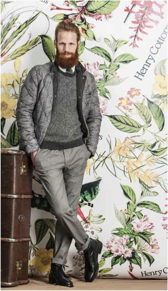 henry cottons veste matelassee