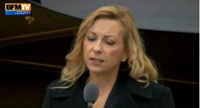 Nathalie Dessay et Alexandre Taraud interprêtent Perlimpinpin de Barbara en hommage aux victimes des attentats