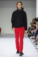 Pantalon rouge agnès b