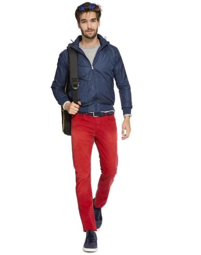 Gucci, boggi pantalon rouge