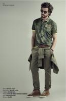 Napapijri tenue mode homme kaki
