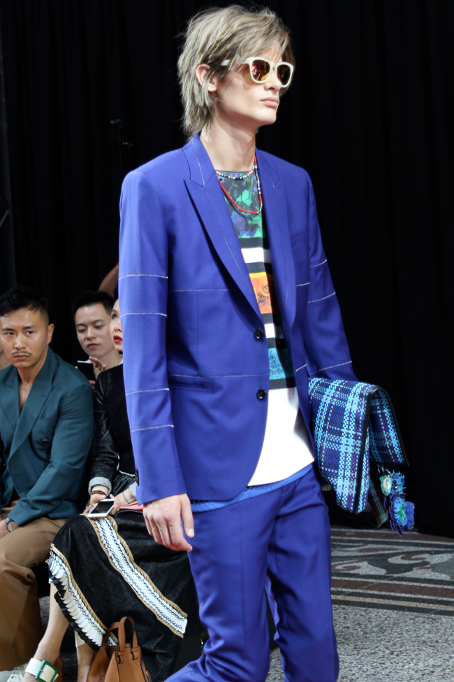 Paul Smith costume bleu été 2017