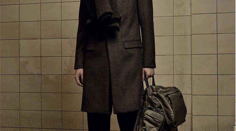 manteau et écharpe AllSaints