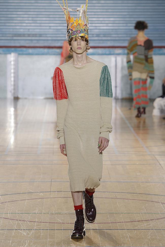 L'homme en robe par Vivienne Westwood hiver 2017