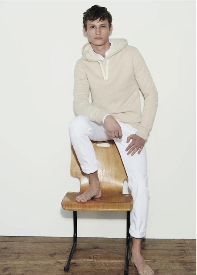 Balibaris hoodie crème