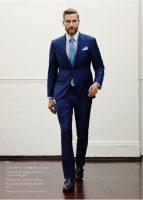 costume bleu Hackett