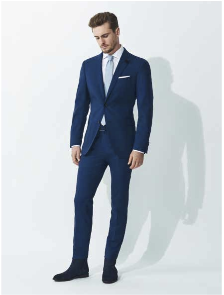 Windsor costume bleu