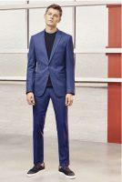 costume bleu Boss
