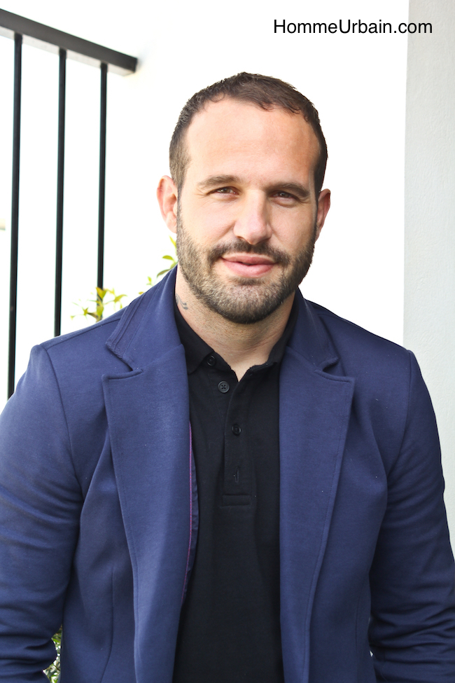 Interview de Frédéric Michalak, égérie de San Marina