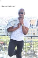 street style black veste denim