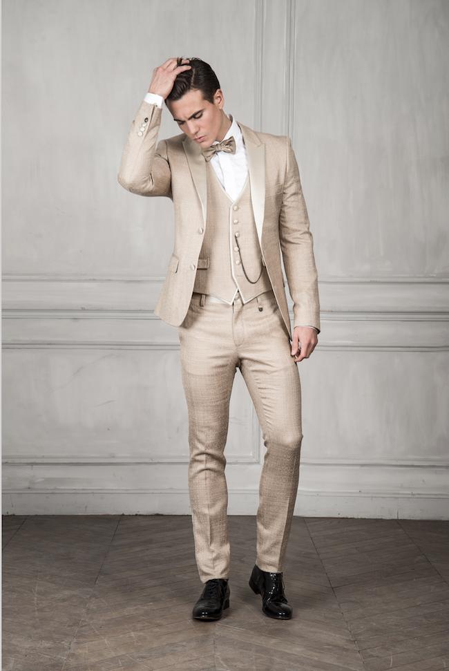 Top Comment choisir son costume de marié ? Costume homme 2017 mariage VZ94