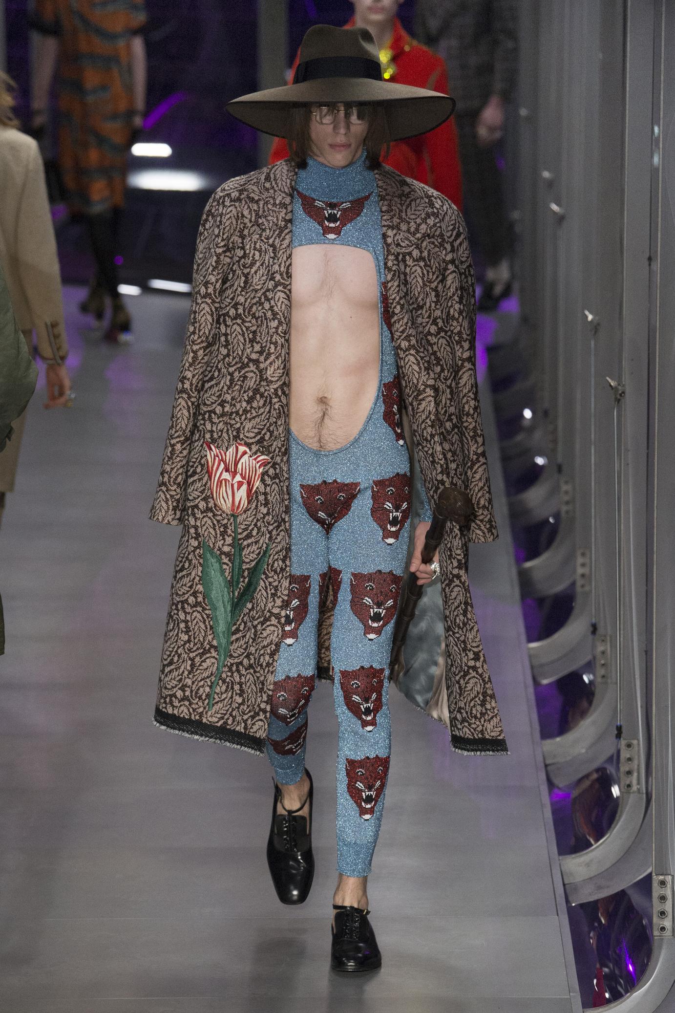 Mode homme hiver 2017-2018 : la mode pête un câble