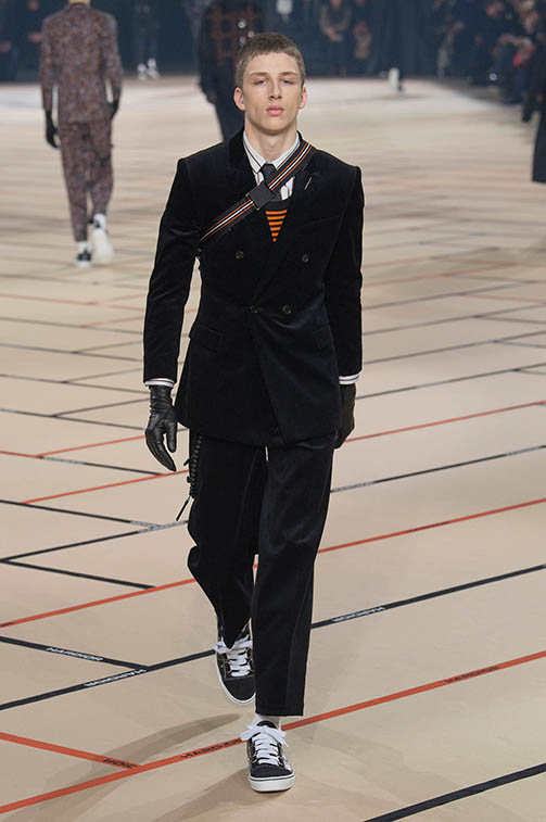 Dior homme hiver 2017 silhouette_35