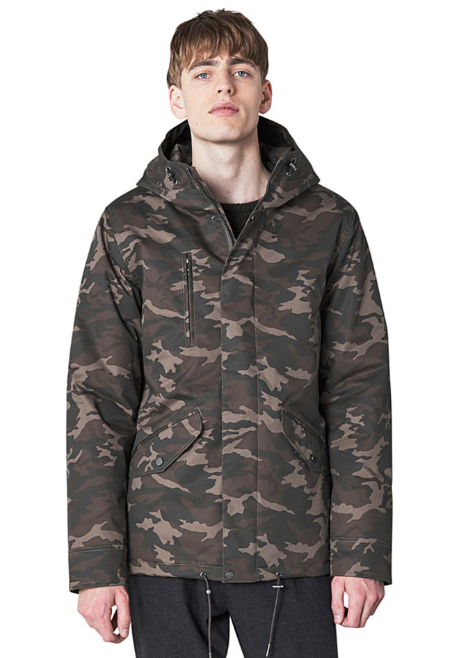 parka homme camouflage
