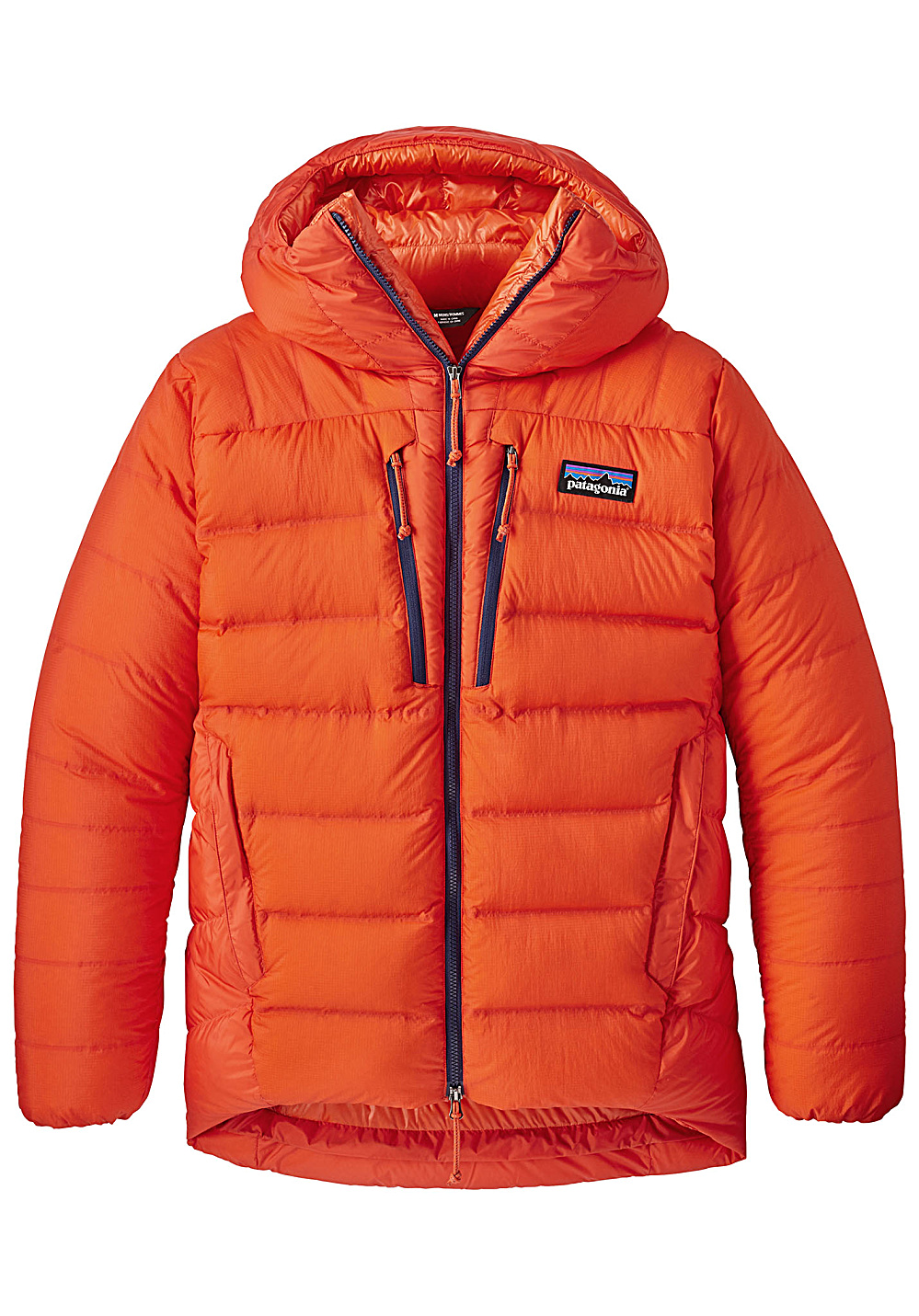 doudoune homme orange