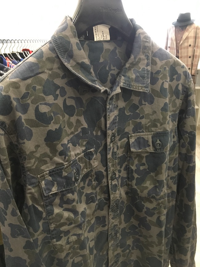 The Kooples chemise camouflage