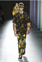 pantalon camouflage MSGM