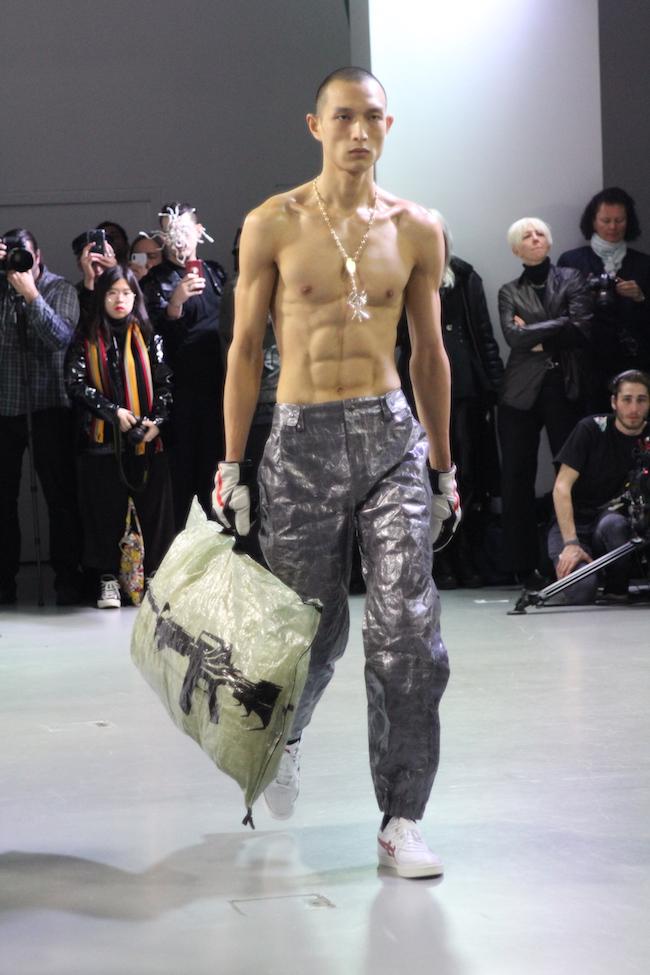 Les looks les plus sexy de la fashion week homme de Paris hiver