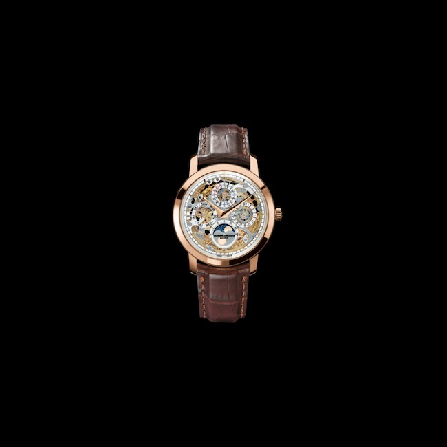 Vacheron Constantin montre automatique en or rose