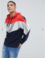 hoodie métallisé