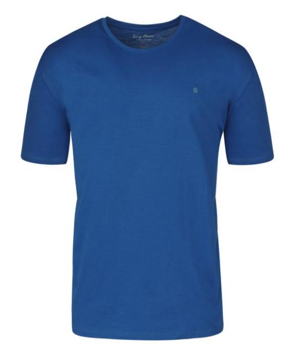 Tee shirt homme bleu