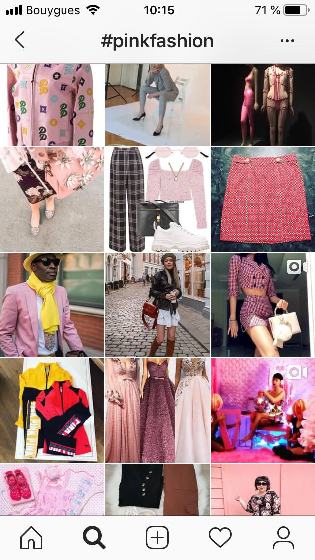 Instagram mode
