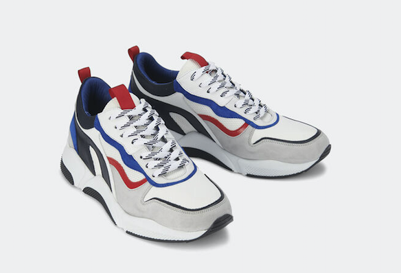 sneakers tricolores