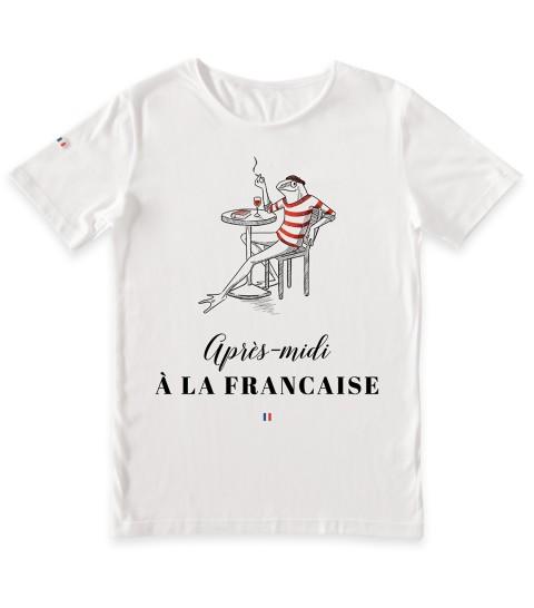 tee shirtaprès-midi à la française
