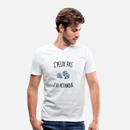 t-shirt J'peux pas j'ai pétanque