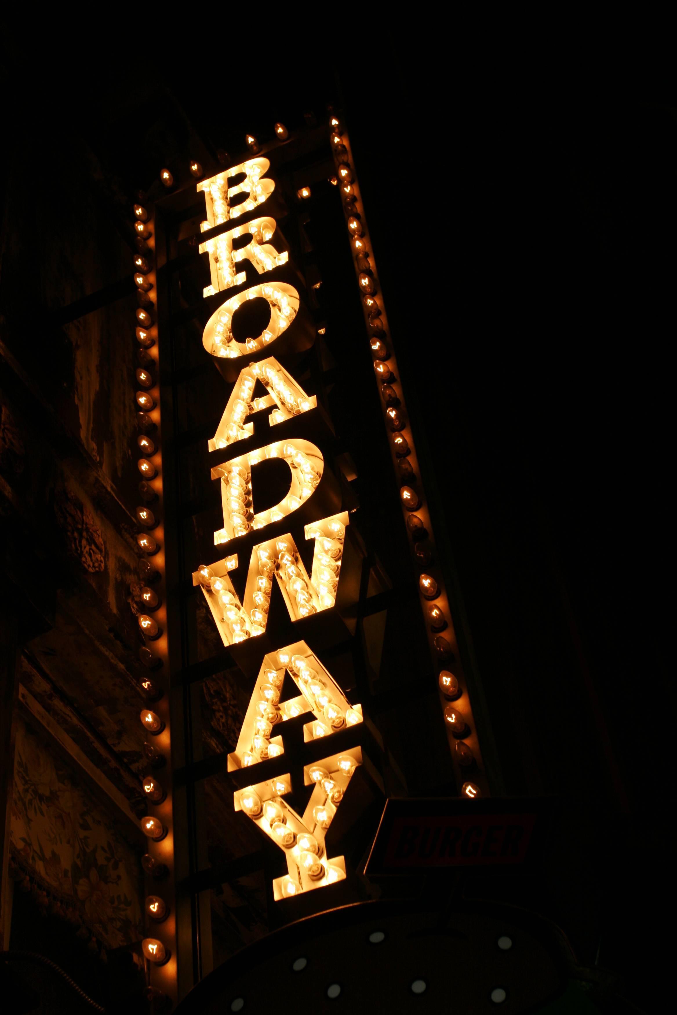 spectacle à Broadway