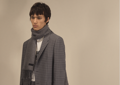 Costume homme hiver 2020 – 2021 : belles matières et carreaux subtils