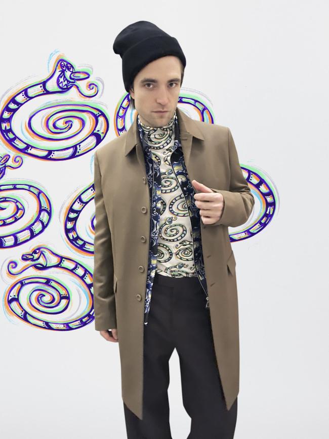 Robert Pattinson en Dior Homme