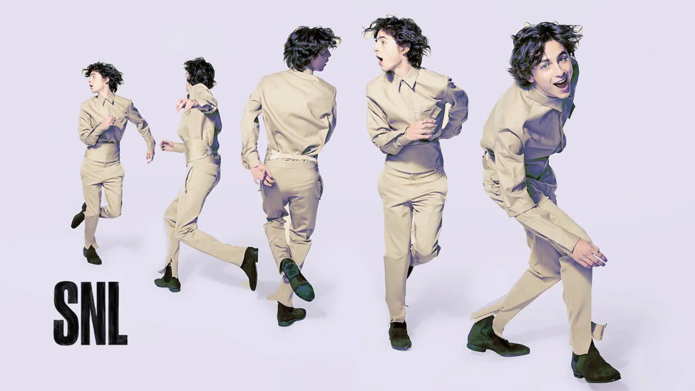 Timothee Chalamet en Givenchy
