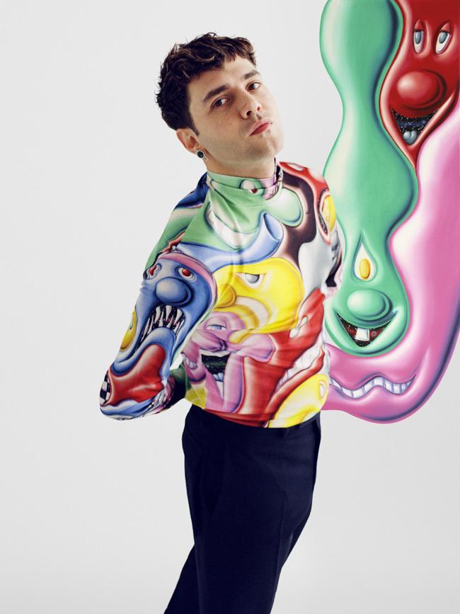 Xavier Dolan en Dior Homme