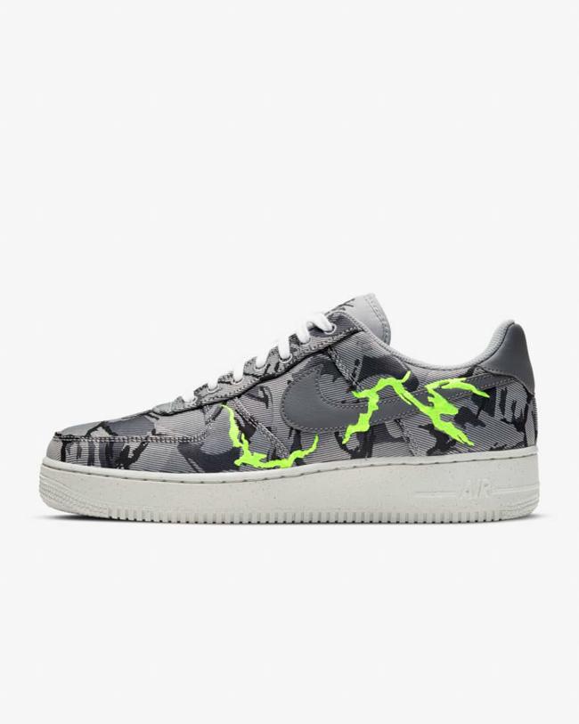 Nike grises et fluo