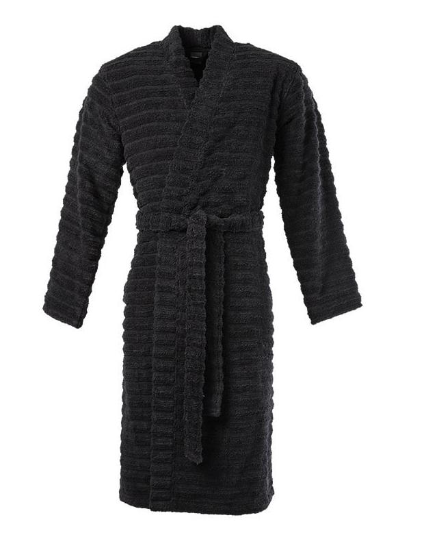 Peignoir homme bouclette de coton moelleux kimono