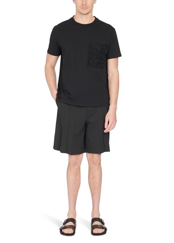 Valentino tee shirt et short noir homme