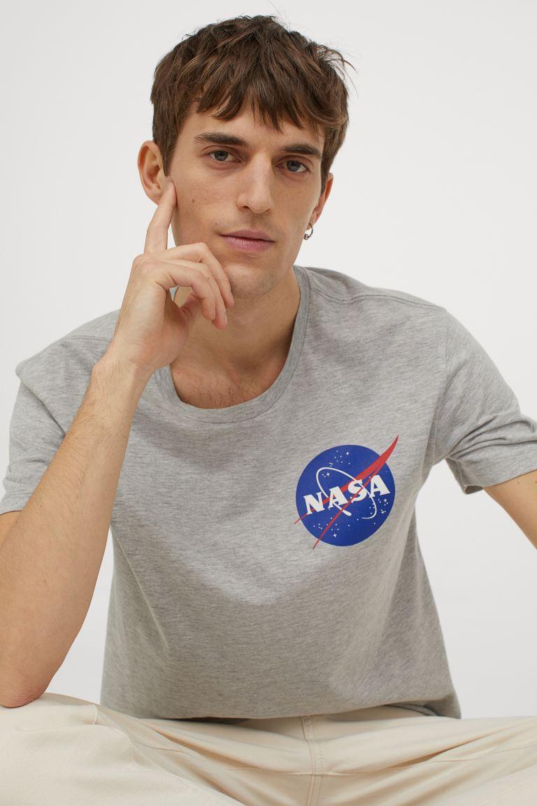 tee-shirt homme H&M Nasa