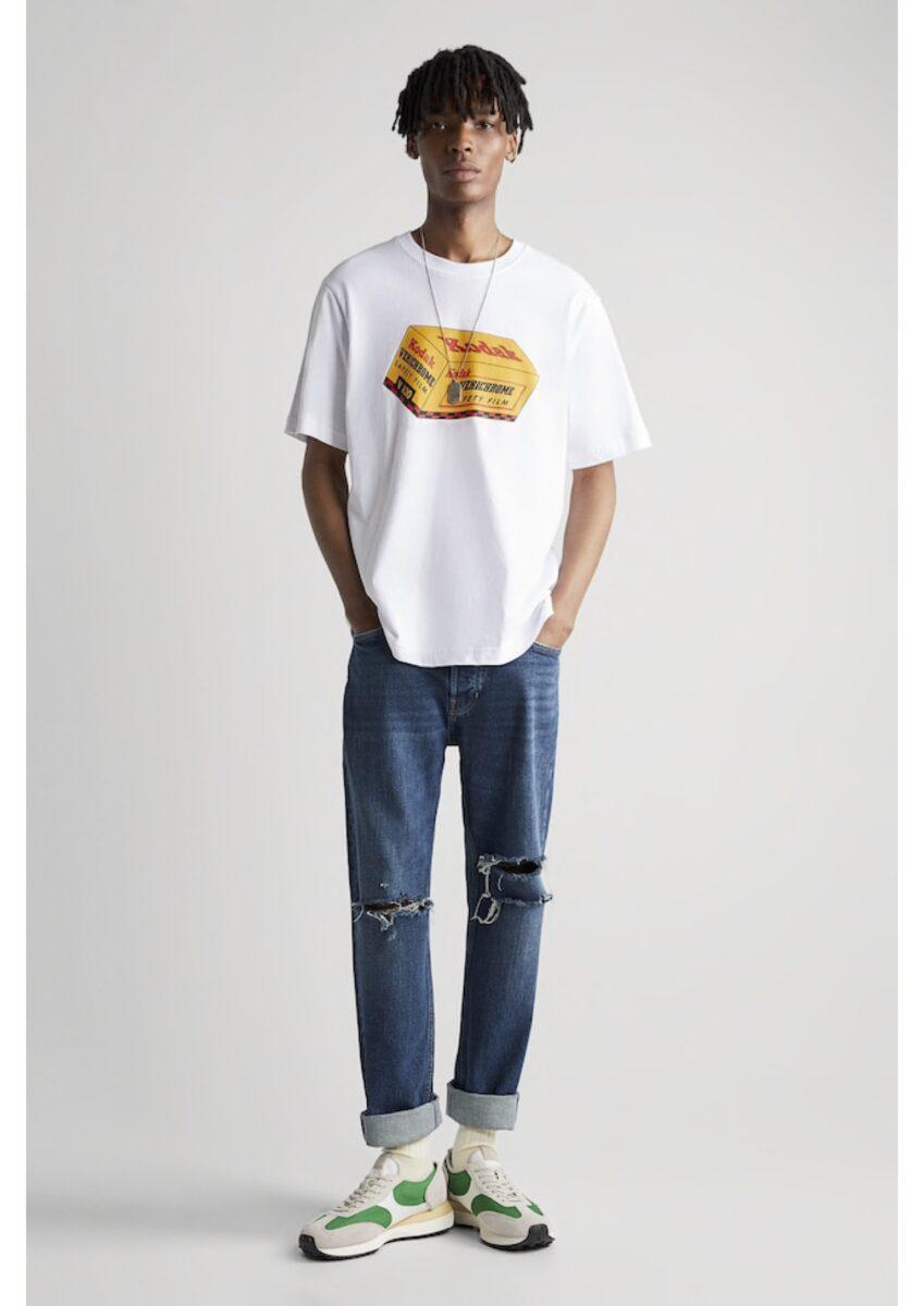 tee-shirt homme Zara Kodak
