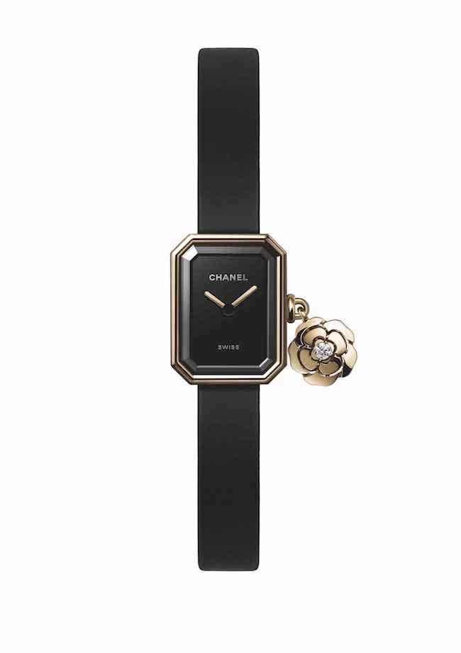 CHANEL, la montre Première Extrait de Camélia